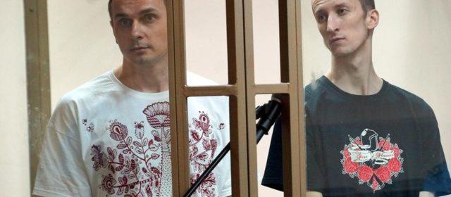 Solidaritätsaktion für Oksana Berezovskaya und Valentina Cherevatenko