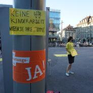 Gemeinsame Berner Aktion zur Konzernverantwortungsinitiative 20. August 2020